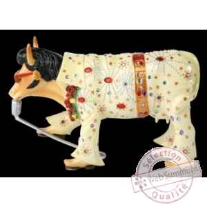 Figurine Vache the king 15cm Art in the City 80834