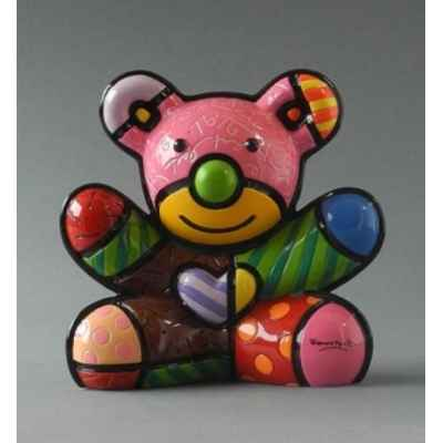 Figurine ours bear fun Britto Romero -B330406
