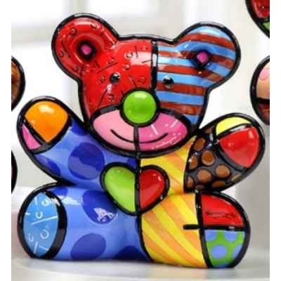 Figurine ours bear hope Britto Romero -B330404