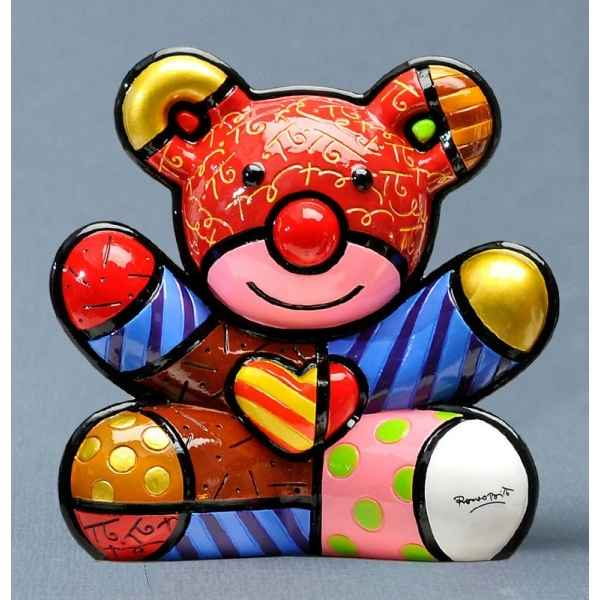 Figurine ours bear love Britto Romero -B330402