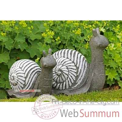 "Figure ""escargot\"" Casablanca Design -59863"