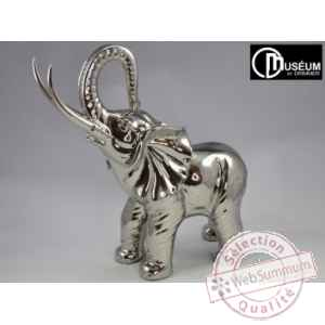 silver elephant argent 64cm Edelweiss -C8091