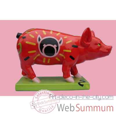 Figurine Cochon - Party Piggies - Piggy Pop - PAP14