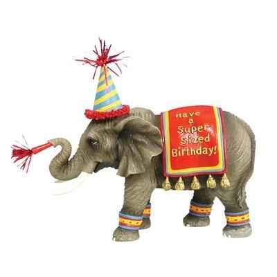 Video Figurine Elephant Anniversaire -HB16926