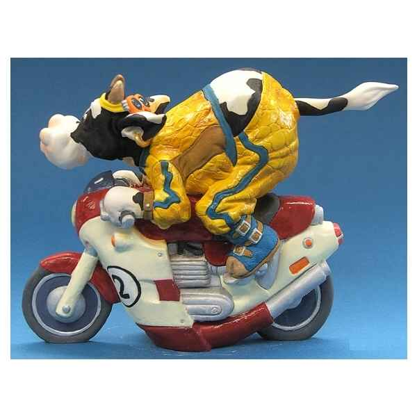 Figurine So Vache motocycliste -SOV 05