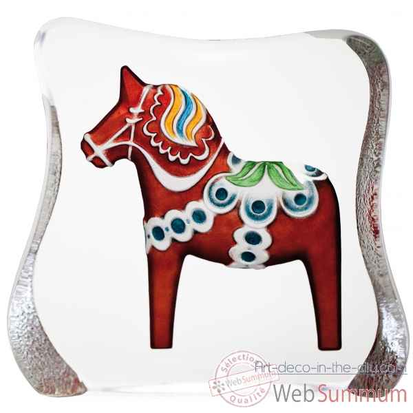 Cheval de dalecarlie , rouge , traditionnel design r ljubez Mats Jonasson -26126