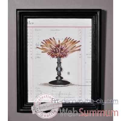 reproduction oursin crayons dans cadre moulur objet de curiosit ta094. Black Bedroom Furniture Sets. Home Design Ideas