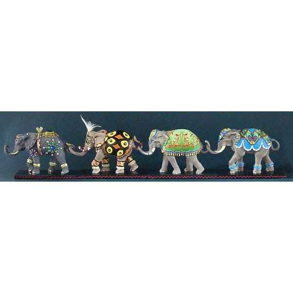 Figurine elephant - jewel  - tu13076