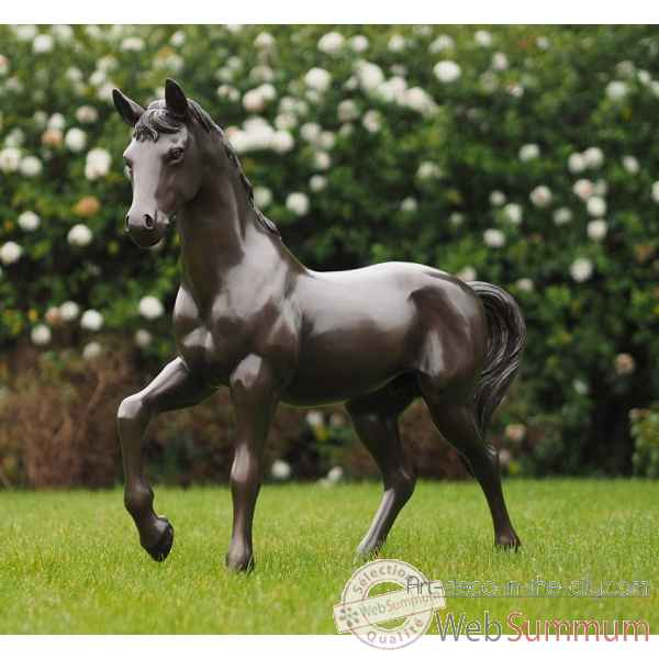 Cheval 81 cm Thermobrass -B1199-3